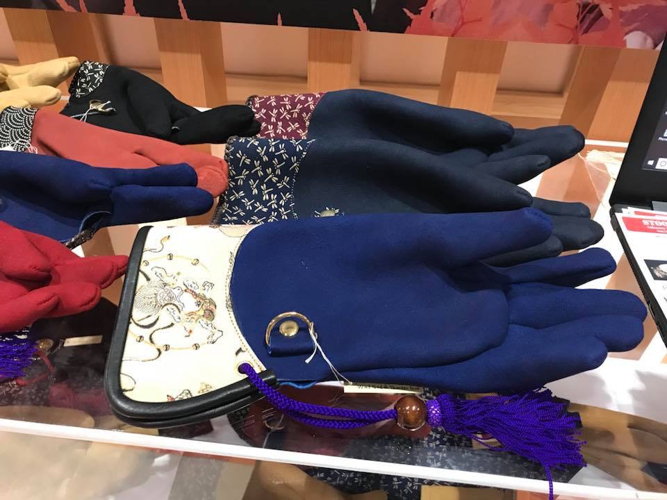 猛禽用グローブ 風神雷神 印伝 蜻蛉 Falconry glove